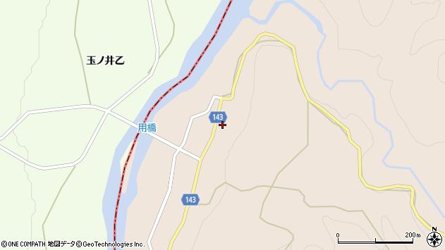 山形県西村山郡大江町三郷甲132周辺の地図