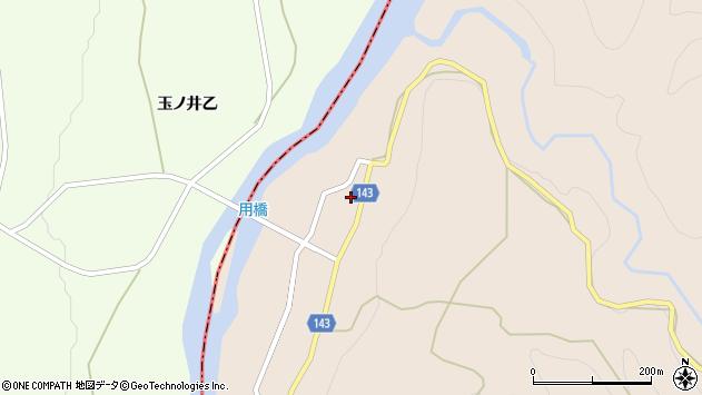 山形県西村山郡大江町三郷甲129周辺の地図