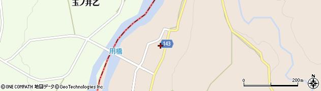 山形県西村山郡大江町三郷甲周辺の地図