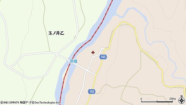 山形県西村山郡大江町三郷甲128周辺の地図