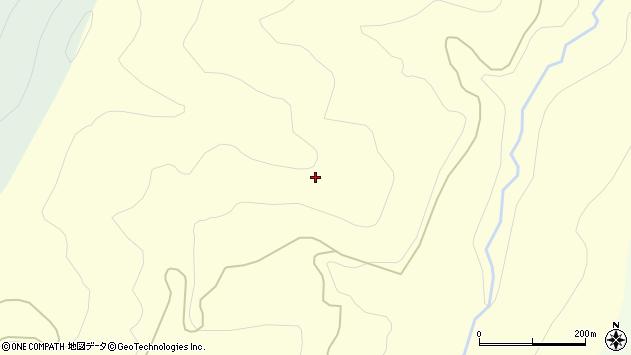 山形県西村山郡大江町小清田代周辺の地図