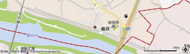 山形県寒河江市島640周辺の地図