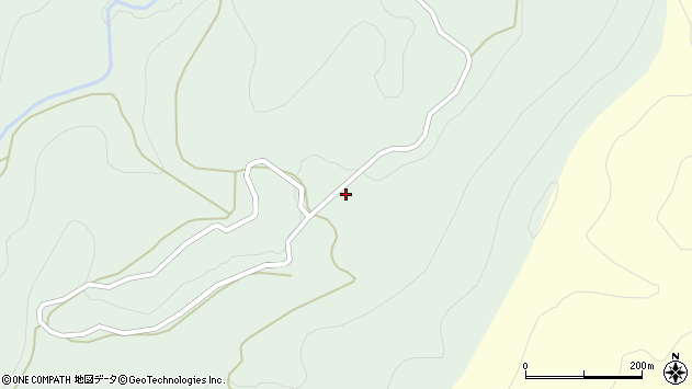 山形県西村山郡大江町沢口561周辺の地図