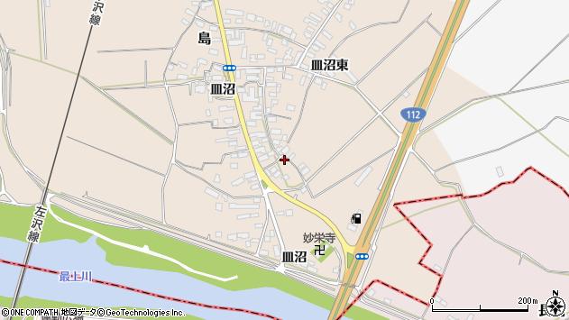 山形県寒河江市島659周辺の地図