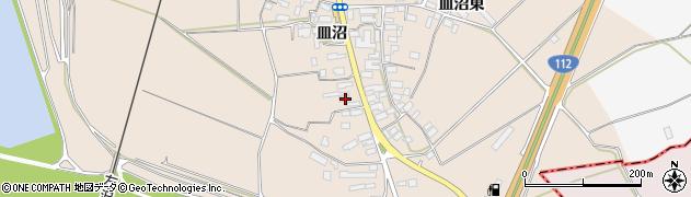 山形県寒河江市島544周辺の地図