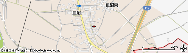 山形県寒河江市島726周辺の地図