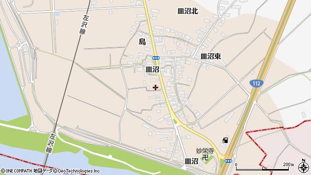 山形県寒河江市島533周辺の地図