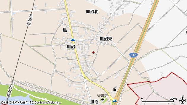 山形県寒河江市島722周辺の地図