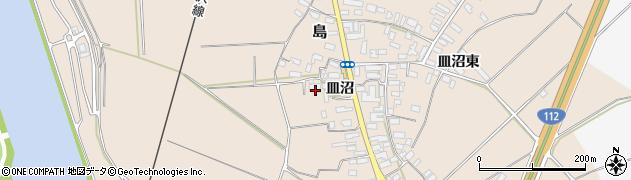 山形県寒河江市島524周辺の地図
