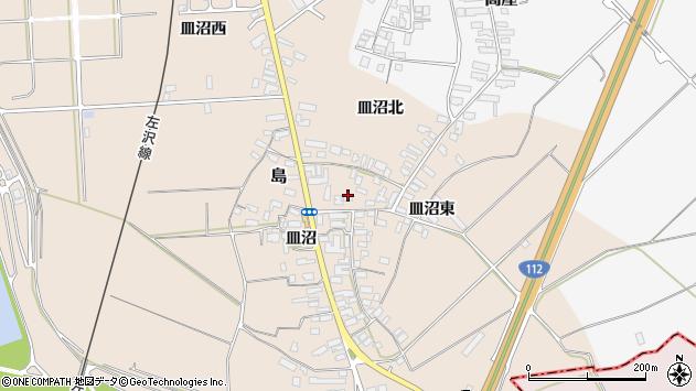 山形県寒河江市島698周辺の地図