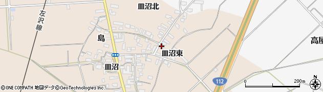 山形県寒河江市島848周辺の地図