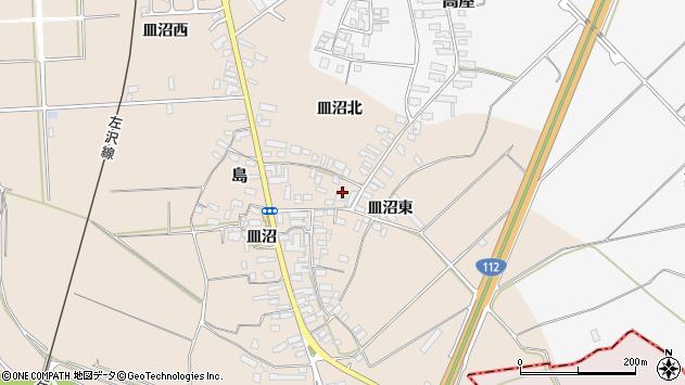 山形県寒河江市島702周辺の地図