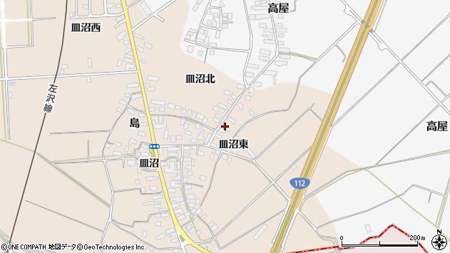 山形県寒河江市島843周辺の地図