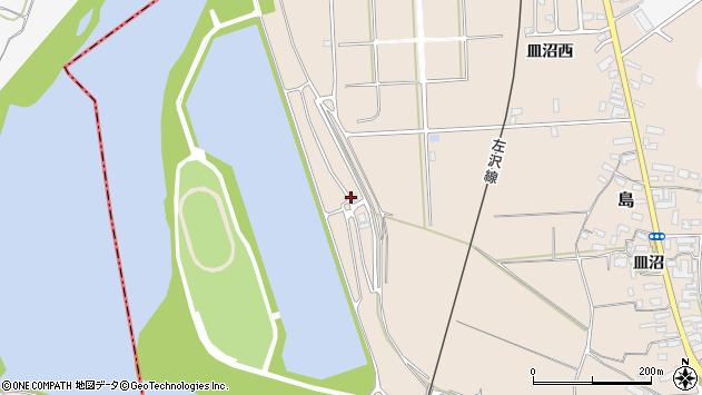 山形県寒河江市島島南398周辺の地図