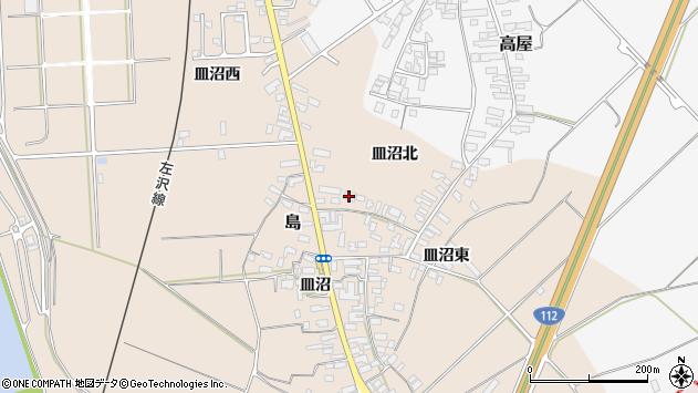 山形県寒河江市島858周辺の地図