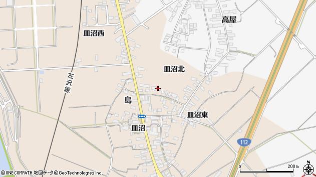 山形県寒河江市島859周辺の地図