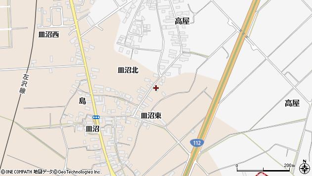 山形県寒河江市島838周辺の地図