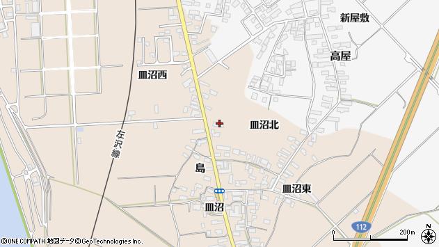 山形県寒河江市島686周辺の地図