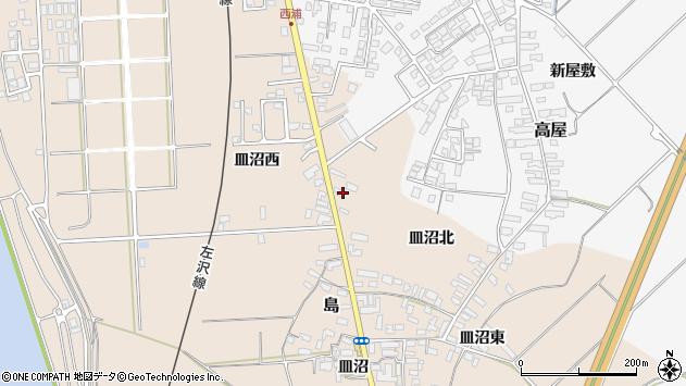 山形県寒河江市島695周辺の地図
