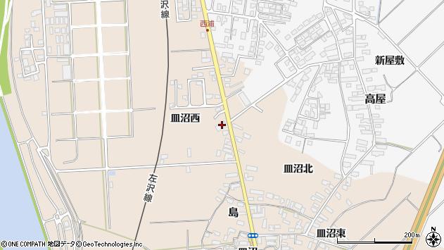 山形県寒河江市島494周辺の地図