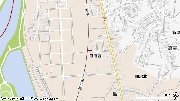 山形県寒河江市島819周辺の地図
