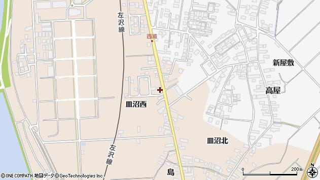 山形県寒河江市島884周辺の地図