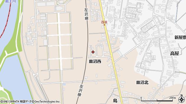 山形県寒河江市島817周辺の地図