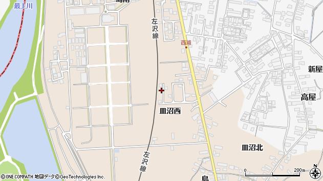 山形県寒河江市島818周辺の地図