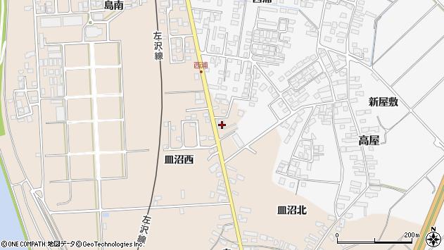 山形県寒河江市島877周辺の地図