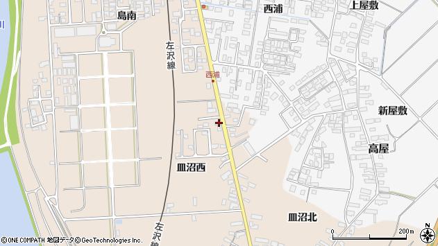 山形県寒河江市島887周辺の地図