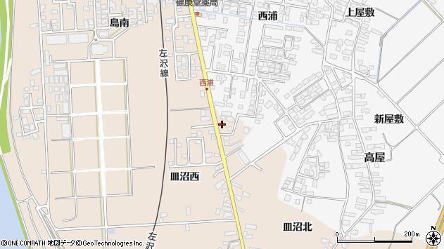 山形県寒河江市島874周辺の地図