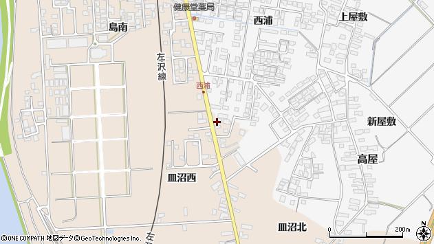 山形県寒河江市島677周辺の地図