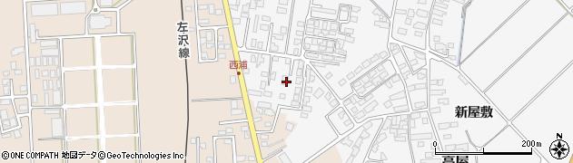 山形県寒河江市高屋西浦457周辺の地図