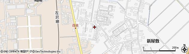 山形県寒河江市高屋西浦455周辺の地図