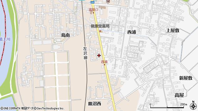 山形県寒河江市島793周辺の地図