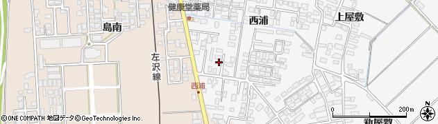 山形県寒河江市高屋西浦437周辺の地図
