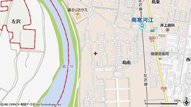 山形県寒河江市島島南1114周辺の地図