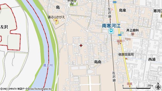 山形県寒河江市島1101周辺の地図