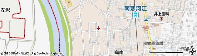 山形県寒河江市島島南1129周辺の地図
