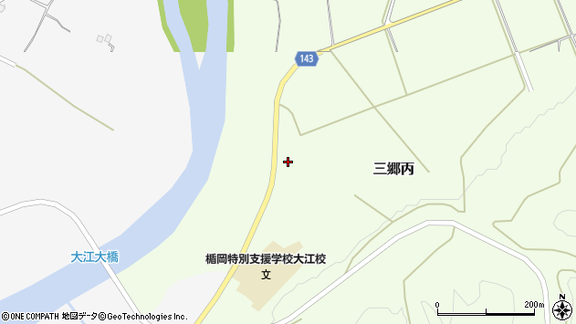 山形県西村山郡大江町三郷丙113周辺の地図