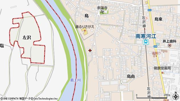 山形県寒河江市島2111周辺の地図