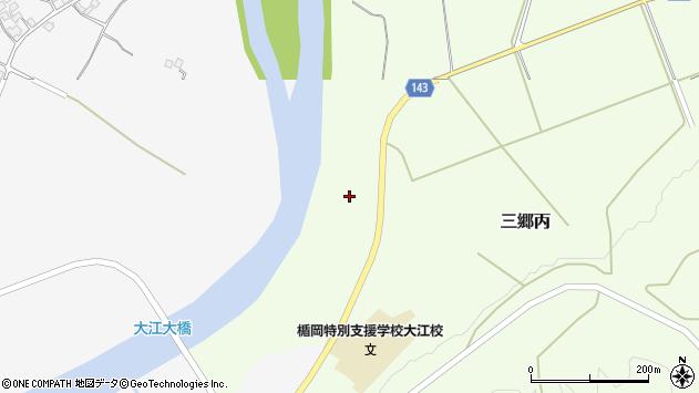 山形県西村山郡大江町三郷丙16周辺の地図
