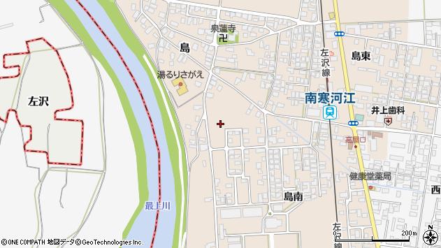 山形県寒河江市島1120周辺の地図