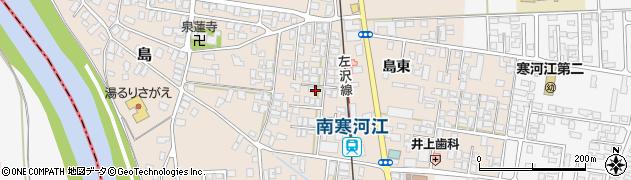 山形県寒河江市島島東15周辺の地図