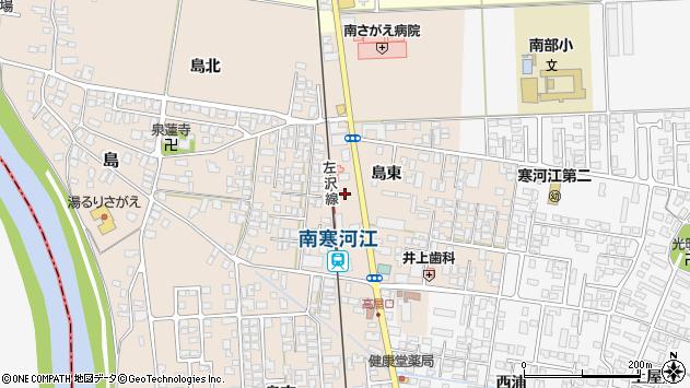 山形県寒河江市島72周辺の地図