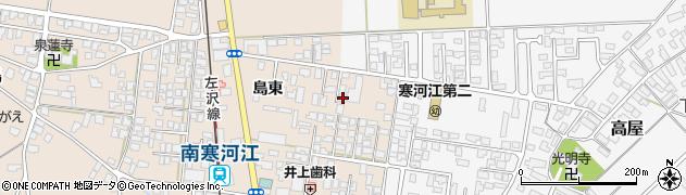 山形県寒河江市島173周辺の地図