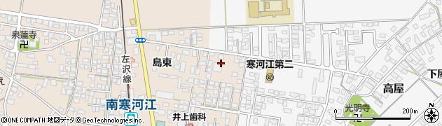 山形県寒河江市島181周辺の地図