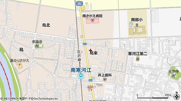 山形県寒河江市島島東144周辺の地図