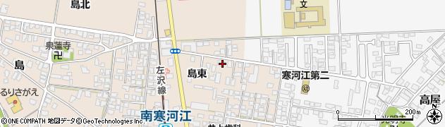 山形県寒河江市島165周辺の地図