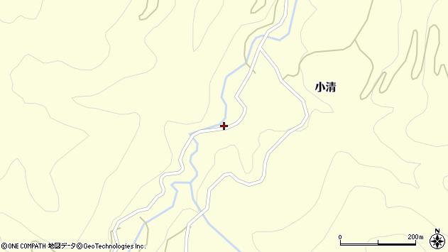 山形県西村山郡大江町小清71周辺の地図